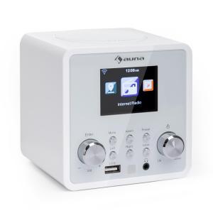 IR-120 radio internetowe Wi-Fi DNLA UPnP App Control białe