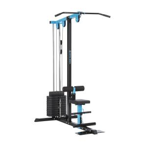 LZ 550 Cable Training Machine 2 Cables 45 kg Weight Steel Blue
