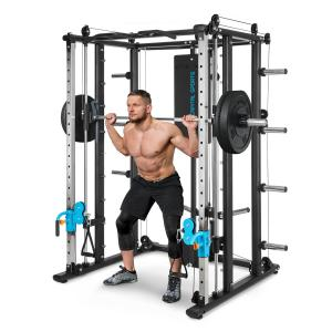 Pro Amaze Smith Machine Cable Cross Barra de Levantamento