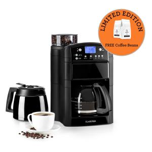 Aromatica Set Coffee Machine Grinder Glass Jug / Thermos Black Black | Glass & thermos can