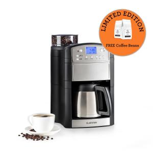 Aromatica Thermos Coffee Machine Grinder Thermos Can Aroma + Stainless Steel Brushed stainless steel | Thermos can