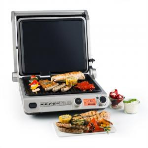 Grand Gourmet 3-in-1 Contact Grill 2000W 160-230°C Glass Ceramic black