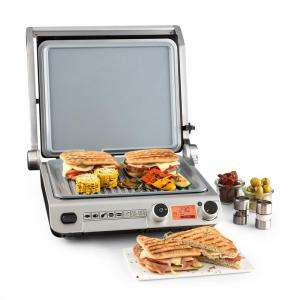 Grand Gourmet Ceramic 3-in-1 Kontaktgrill 2000W Glaskeramik schwarz