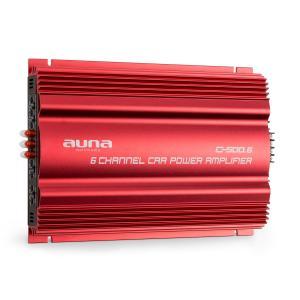 C500.6 6-kanaals versterker auto-eindversterker 6x65W RMS