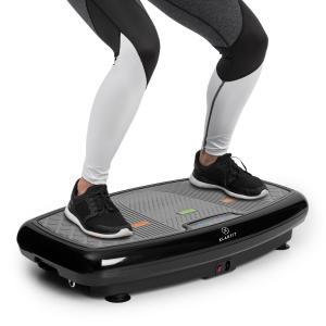 Vib 1000 Vibration Plate 5 Modes Adjustable Duration & Intensity Black Black