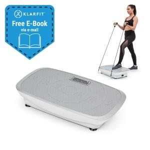 Vib 1000 Vibration Plate 5 Modes Adjustable Duration & Intensity Silver Silver