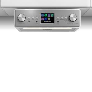 "Connect Soundchef Radio encastrable Internet DAB+ FM enceintes 3"" -blanc Blanc 