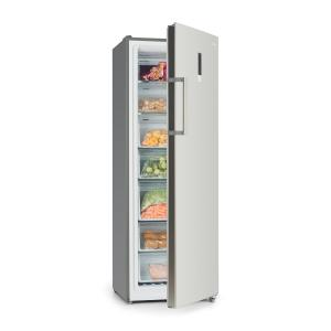 Iceblokk Hybrid Freezer 227 Litres 7 Compartments Stainless Steel Look