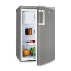 CoolZone 120 Eco Fridge-Freezer A+++ 118 Litres Stainless Steel Look