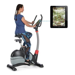 Arcadion Exercise Bike Heart Rate Monitor Bluetooth Handlebar Holder Black Black