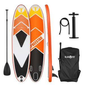 Spreestar 325 Set tabla hinchable para surf de remo Tabla SUP 325 x 15 x 86 Naranja Naranja