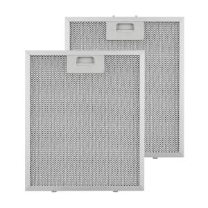 Aluminium Grease Filter 27.1 x 31.8 cm Replacement Filter 2 Pieces Accessories