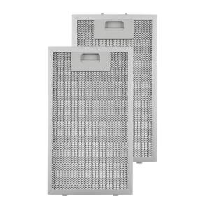Aluminium Grease Filter 18.5 x 31.8 cm Replacement Filter 2 Pieces