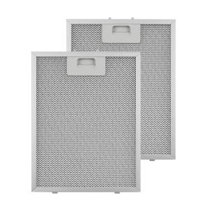 Aluminium Grease Filter 24.4 x 31.3 cm Replacement Filter 2 Pieces