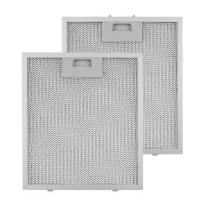 Aluminium Grease Filter 25.8 x 29.8 cm Replacement Filter 2 Pieces Accessories