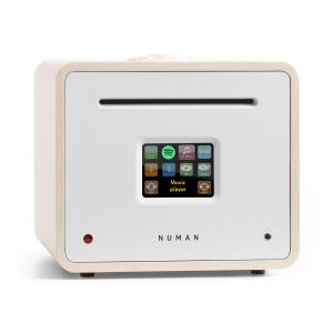 Unison Retrospektive Edition - All-In-One Receiver with an Amplifier white White