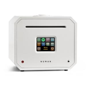Unison Octavox Edition – All-in-One Stereoanlage: CD-Player, Internetradio, Receiver & Verstärker Weiß