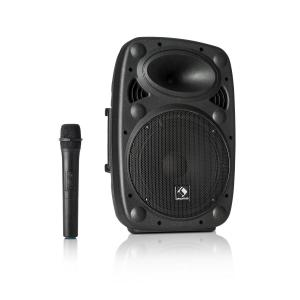"Streetstar 10 Système de sono mobile subwoofer 10""  400W + 2 micros UHF 400 W"