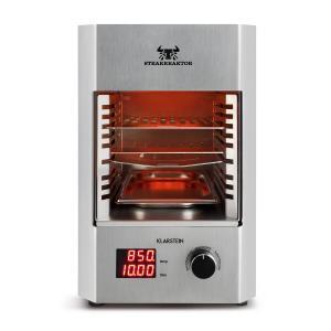 Steakreaktor 2.0 acero inoxidable - barbacoa para interior 1600W 850ºC Plata
