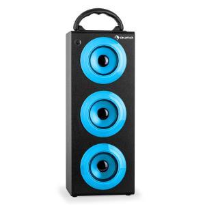 Beachboy XXL Bluetooth-Lautsprecher USB SD AUX UKW Akku blau
