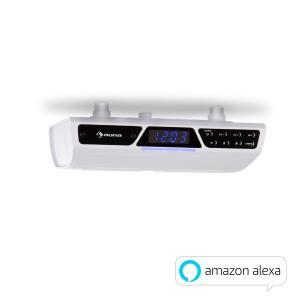 Intelligence Radio with Alexa Bluetooth WLAN Hands-free White White