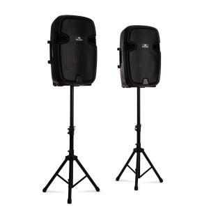 Combo 2 PA-Lautsprecher aktiv und passiv max. 800W Bluetooth schwarz 800 W