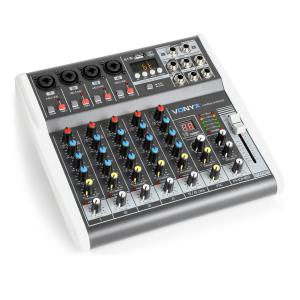 VMM-K402 music mixer de 6 canales Bluetooth USB-Audio-Interface