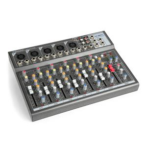 VMM-F701 Mixer 5x Mono Microphone / Line Input Stereo Line Input / Output