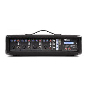 PDM-C405A 4-channel Mixer with an Amplifier, USB and SD slot