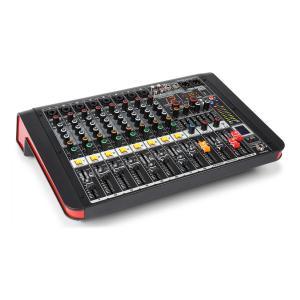PDM-M804A Mesa de mezclas 8 entradas para micrófono Procesador multi-FX de 24 bits Reproductor USB