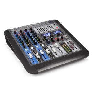 PDM-S604 Mezclador de 6 canales DSP/MP3, puerto USB, receptor BT