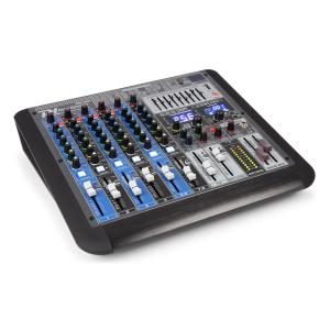 PDM-S804 8-channel Mixer DSP / MP3, USB Port, BT Receiver