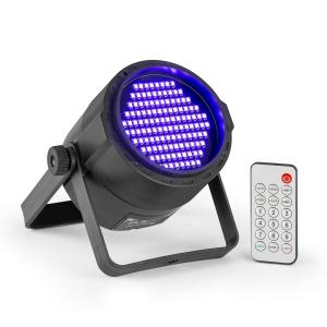 PLS20 Blacklight UV Par LED Spotlight 120 x 3528 LEDs Battery Remote Control
