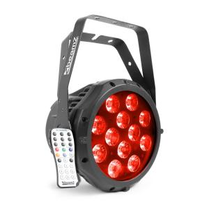 Professional BWA412 Aluminum IP65 LED Par 12x18W 6in1-LEDs RGBWA-UV