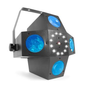 Multitrix LED 20x 1W RGBWA LEDs DMX- of Stand Alone modus