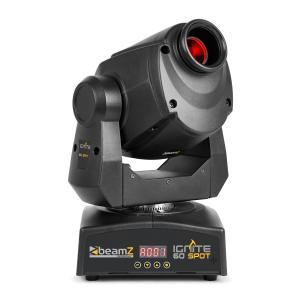 Professional IGNITE60 Spot Moving Head 60W LED DMX or Stand-Alone