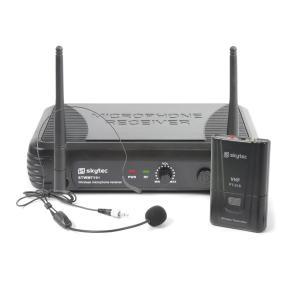 STWM711H micro headset VHF- techniek zender, receiver en headset zwart
