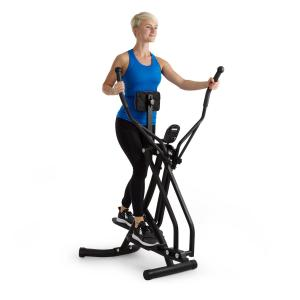 Bogera X crosstrainer air walker LC display trainingscomputer – zwart