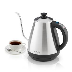 Garcon Kettle 1L 2000W Warming Function Gooseneck Stainless Steel