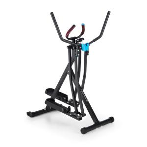 Air-Walker stepper cardio crosstrainer charge 100kg - noir Noir