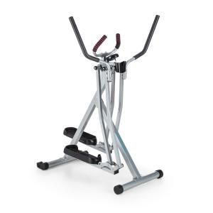 Air-Walker Crosswalker Crosstrainer Preto Prateado silver