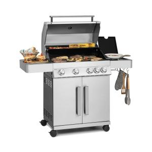 Vendetta 4.1 ISL Gas Grill 5 Burners 17 kW 71 x 45.5 cm Grill Stainless Steel