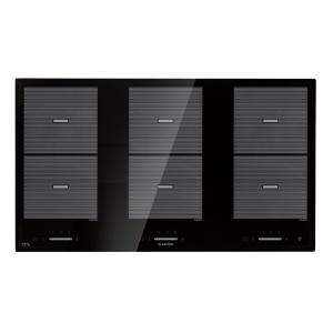 Virtuosa Flex 90 Induction Hob 6 Zones 10800W Ceran Built-in Black 6