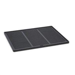 Highgrade-Plate Cast Iron Grill Plate 44.5 x 34.5 cm Enamelled