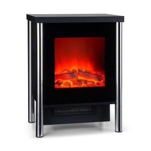 Copenhagen Electric Fireplace 950 / 1900W Thermostat Black