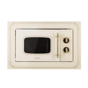 Victoria 20 Microonde ad Incasso, 20 l, 800 W, Grill: 1000 W, Avorio Ivory