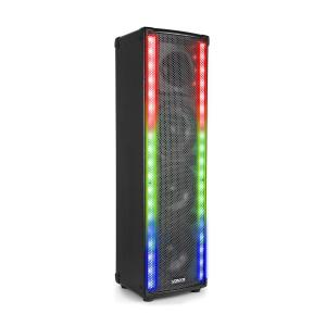 LM80 PA Speaker Bluetooth 5 Lighting Modes 600W Black