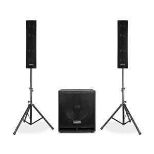 "VX880BT 2.1 actieve luidsprekerset 1000W 15"" 2x8"" USB/SD/MP3/BT"
