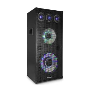 "TL 1012 LED PA-högtalare 900 W, 12"" Woofer, 10"" Mitthögtalare 900W"