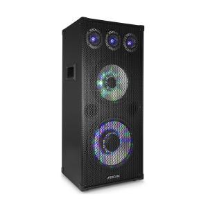 """TL 1012 LED PA-luidspreker 900 W, 12"""" woofer, 10"""" midrange-luidspreker 900W"""